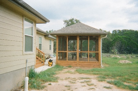 Free Standing Screened Porch - Fischer